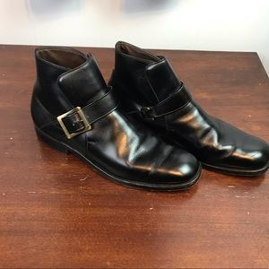 Allen Edmonds | 9.5 A. Black Leather Dress Boot